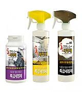 가정용 B세트 : 세탁조 세정제, 다목적 욕실 세정제, 곰팡이 세정제