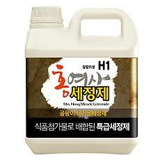 (H1-4 표준품) 곰팡이 전용 세정제 4리터